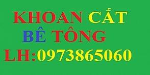 Dịch vụ Khoan cắt bê tông tại Bắc Giang : 0973865060