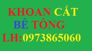 Dịch vụ Khoan cắt bê tông Hà Nội giá rẻ năm 2017 : 0973865060